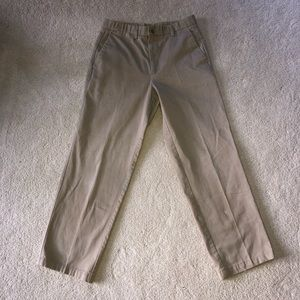 Dockers khaki pleated men's pants